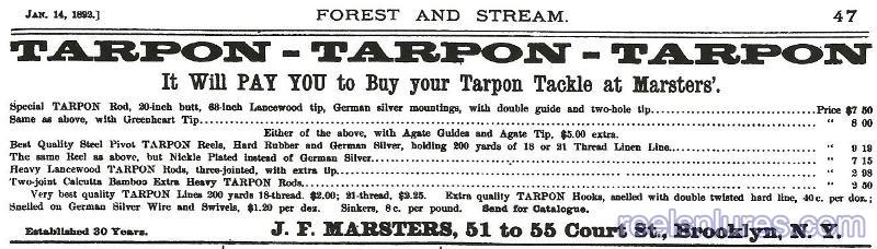 marsters 1892 ad