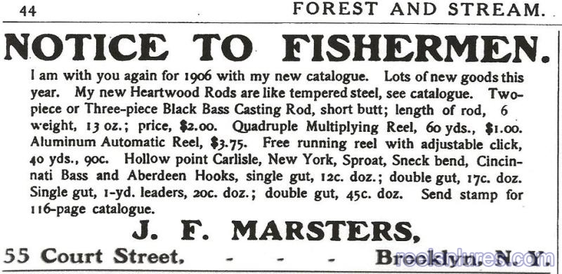 marsters 1906 ad
