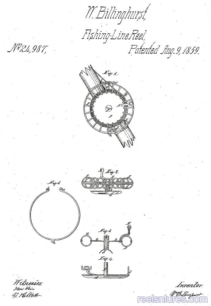 billinghurst 1859 patent