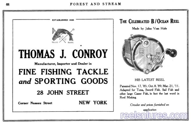 conroy 1915 ad