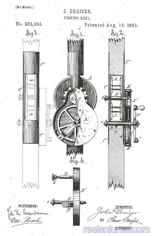 dreiser patent 1