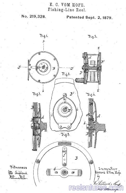 edward vom hofe 1879 patent