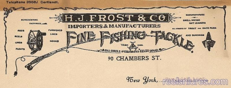 Frost Letterhead 1905