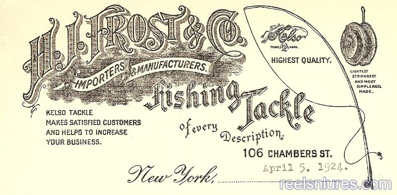 Frost Letterhead 1924