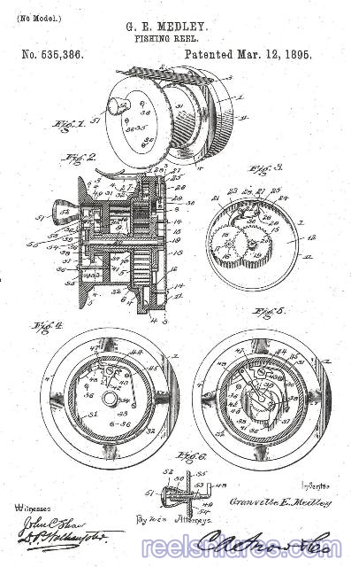 medley fly patent 3