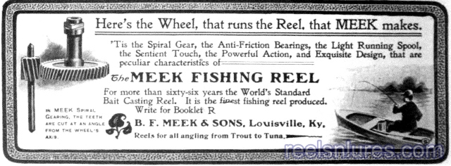bf meek sons reel 1902 ad