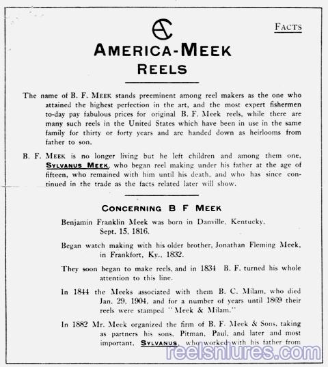 america meek catalog