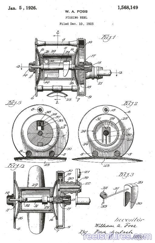 al foss reel patent