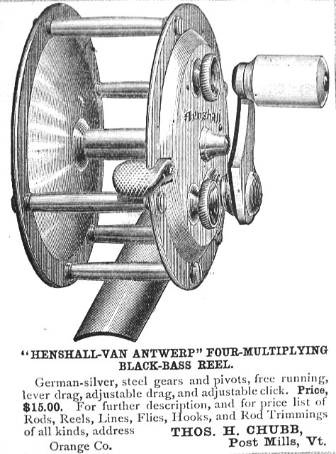 henshall reel first ad
