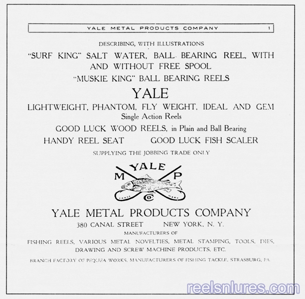 yale metal products company