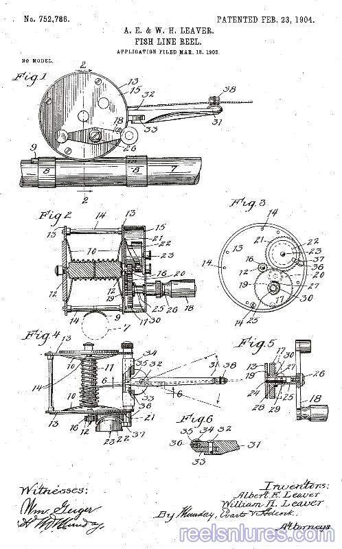 leaver's patent