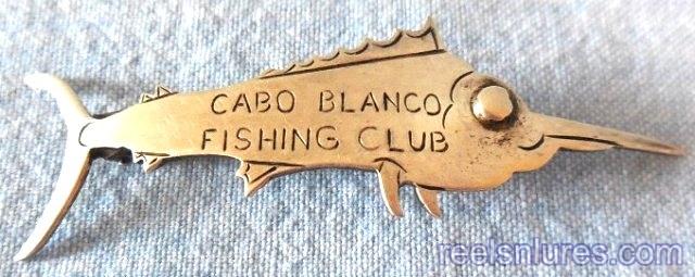 cabo blanco & club pins
