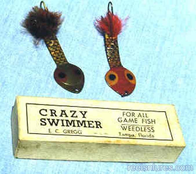gregg crazy swimmer lures