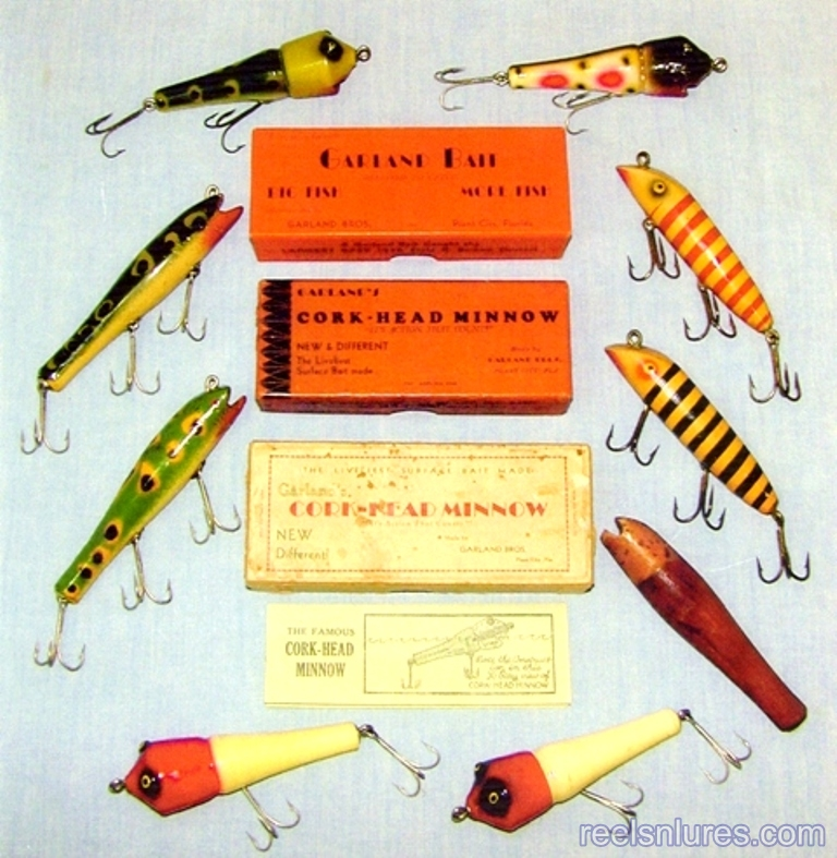 garland bros cork-head lures