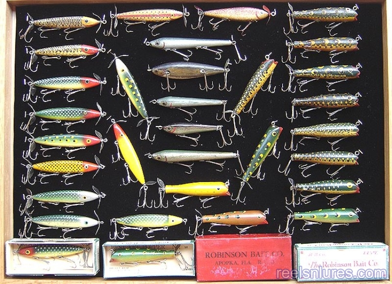 robinson bait co lures