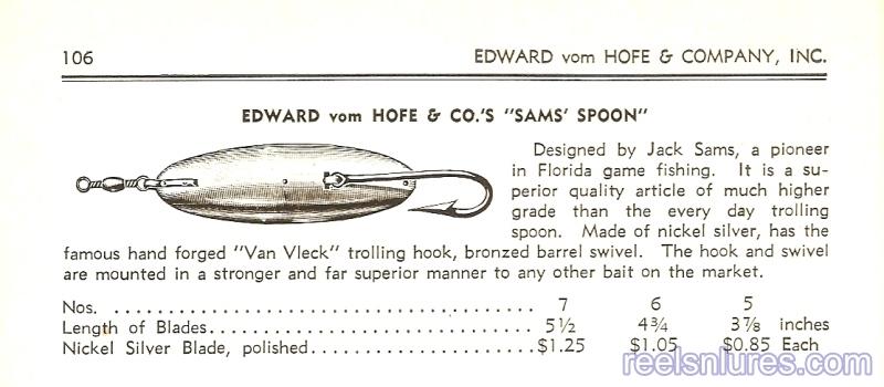 frank sams trolling spoon