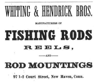 hendrick whiting 1884 ad
