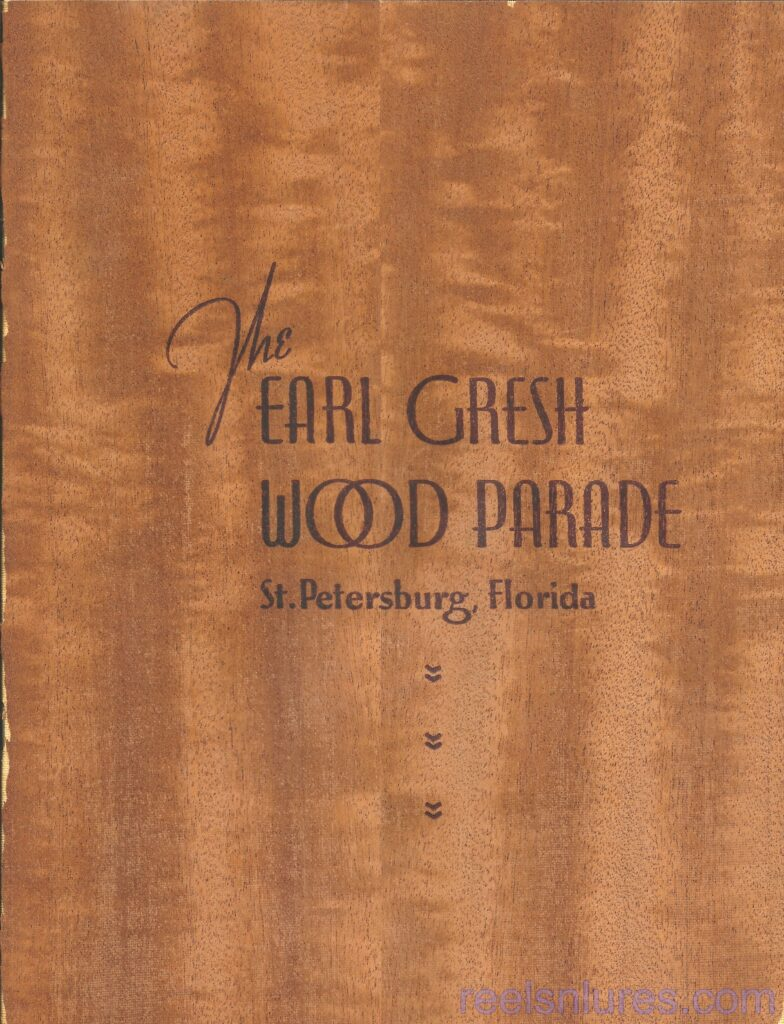 Wood Parade Souvenir Booklet Wood Veneer Cover