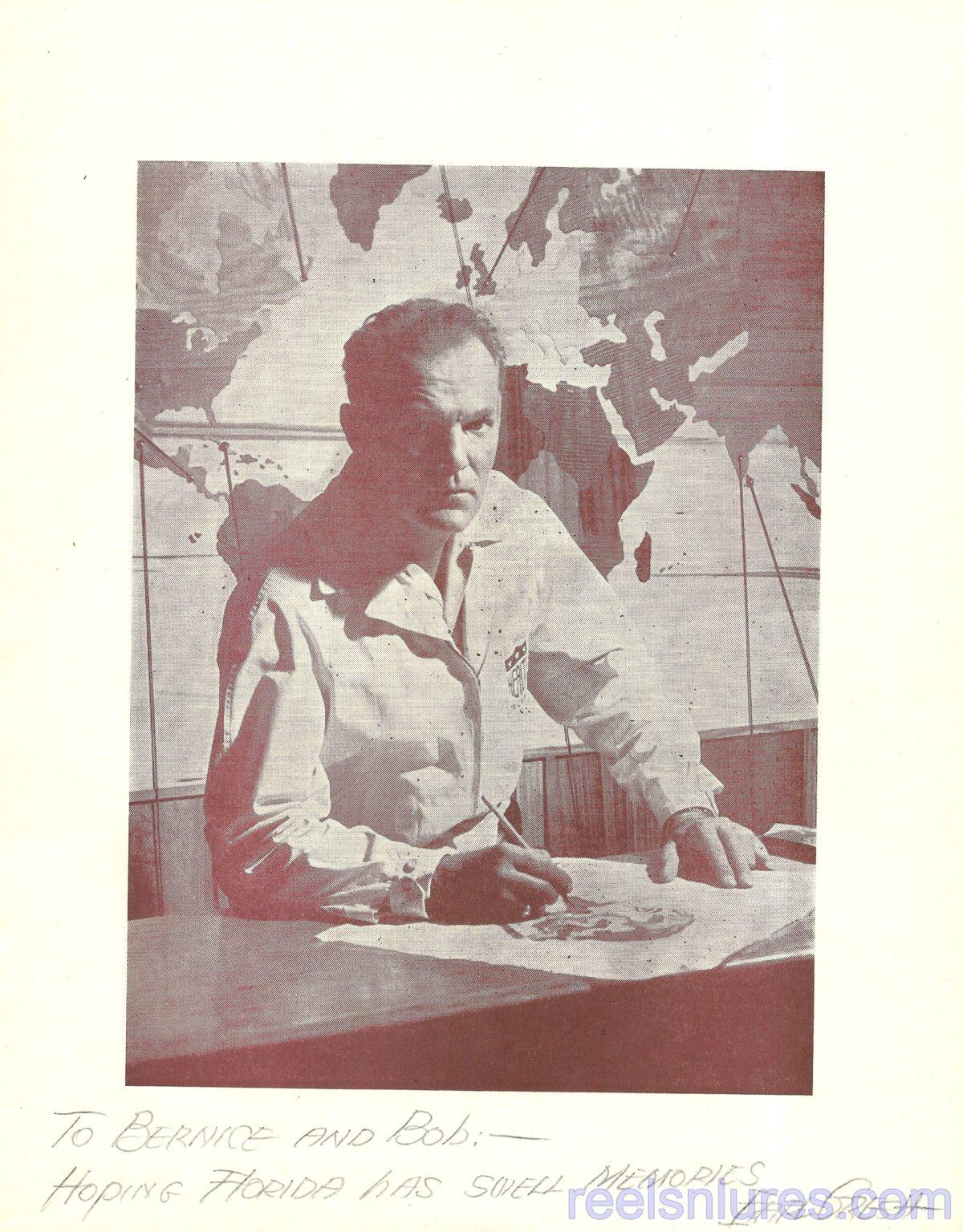 Gresh Autographed Wood Parade Souvenir Booklet