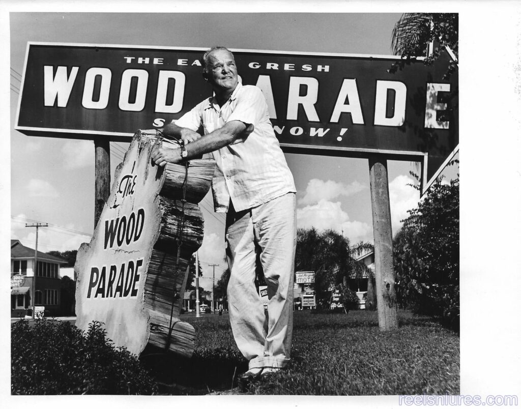 Earl Gresh Wood Parade Press Photo