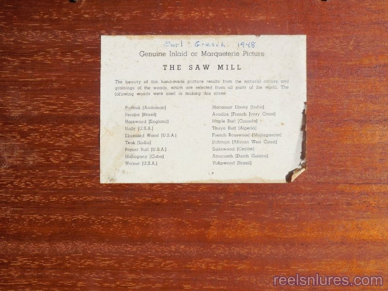 the saw mill marquetry