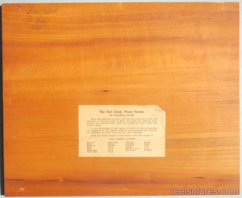 yankee clipper marquetry