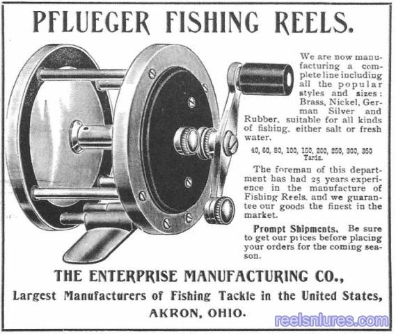 Pflueger 1901 Ad
