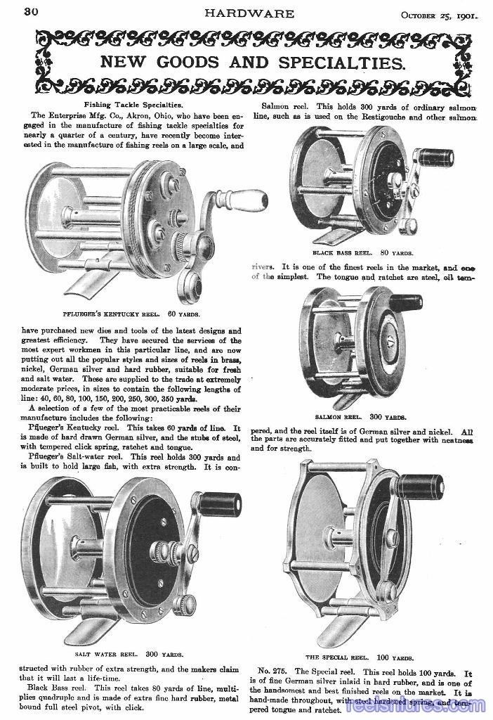 Pflueger 1901 Reels
