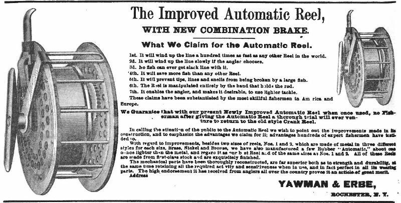 Yawman & Erbe 1889 Ad