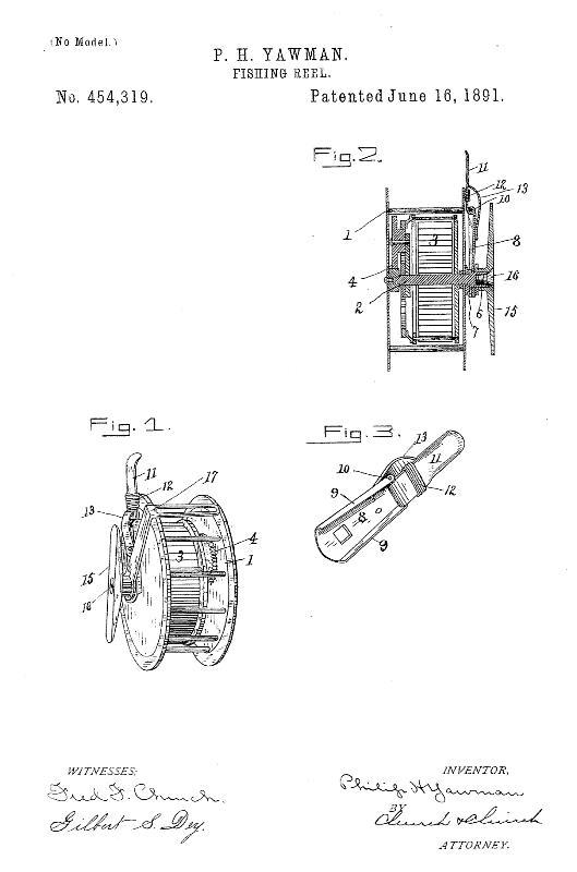 Yawman 1891 Patent