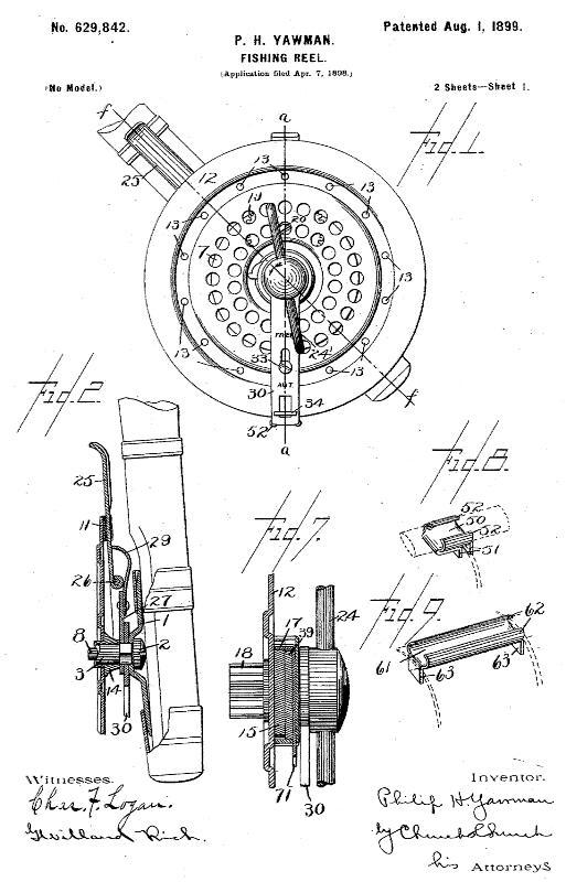Yawman 1899 Patent